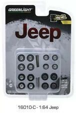 Greenlight  1/64 Jeep Wheels & Tire Pack 16010 C