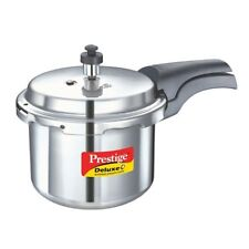 Prestige Deluxe Plus 3 Litre Pressure Cooker For 3-5 Member Outer Lid Steamer