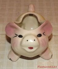 "Addorable Vintage Small Pig Planter - 3"" Tall x 4.5"" x 3.25"""