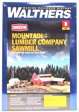 N Scale Walthers Cornerstone 933-3236 Mountain Lumber Co. Sawmill Building Kit