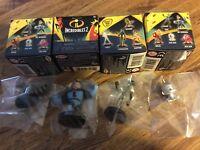 Lot-4 Jakks Pacific Disney Pixar Incredibles Mystery Figure Blind Boxes Series 2