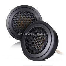 2pcs Car Tweeter Speaker 15W 4Ohm 3.3K-40KHZ AMT Air Motion Transformer 53.5MM