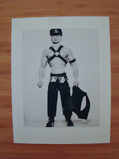 "Billy Gay Doll 16"" Latex Prototype Promotional Image from 1994 B&W Print Master"