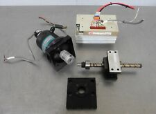 C159983 Kuroda GG15-20 Ball Screw Linear Positioner, Electro-Craft Encoder Motor