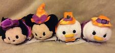 Disney Tsum Tsums HALLOWEEN Mickey Minnie Mouse Donald Daisy Vampire Witch Plush