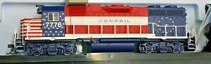 "HO - ATLAS MASTER GOLD 10 003 241 CONRAIL ""Bicentennial"" GP38 # 7776 DCC & SOUND"