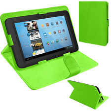 "SUPPORTO Universale Pieghevole Folio Pelle Custodia Cover Per Kindle & 9"" a 10"" Compresse"