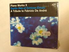 DANILO REA AT SCHLOSS ELMAU - A TRIBUTE TO FABRIZIO DE ANDRE -CD NUOVO SIGILLATO