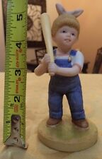 Denim Days By Homco Baseball Girl Figurine New