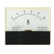 1pcs 44c2 A Analog Dc 0 10a Current Ampere Meter Panel Ammeter Gauge Class 15