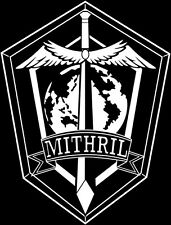 Full Metal Panic! Mithril emblem insignia decal sticker