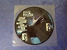 VARIOUS (LP) SWISS WAVE ALBUM 2 [1983 PICTURE DISC PUNK TNT GRAUZONE CHIRAC..]