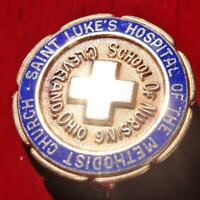 10k yellow gold class pin Cleveland Ohio school of nursing vintage 4.6gr N2709G