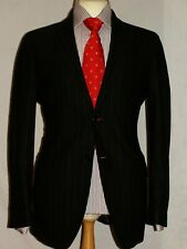 MEN'S PRIMO EMPORIO PINSTRIPE DESIGNER SUIT JACKET UK40R