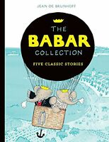 The Babar Collection: Five Classic Stories New Paperback Book Jean de Brunhoff