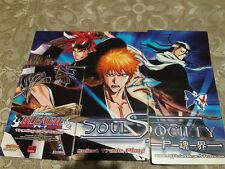 Bleach TCG CCG Complete Soul Society 9-Card Puzzle Set