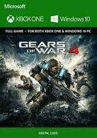 Gears Of War 4 (PC/Xbox One) Xbox Live DIGITAL KEY **FAST DISPATCH**