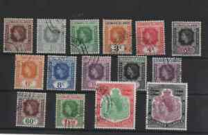 15 stamps from the leeward islands