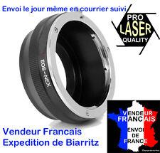 BAGUE ADAPTATION PROF. HAUT DE GAMME Canon -> Sony NEX-3,5,7 , α7 α7s  LASER PRO