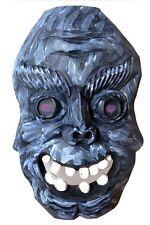 Holzmaske, handgeschnitzte Holz-Maske Nachlaß