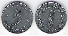 """Pièce de monnaie de """"France"""" 5 centimes (1964)"""