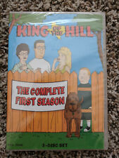 King of the Hill season 1 DVD 3-disc set Mike Judge KOTH one hank bobby