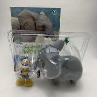 Eaglemoss Disney Animal World - Part Issue 2 Elephants Book + Figures Playset