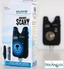 Balzer Galaxy Scary Bissanzeiger Handyformat extra flach blaue Led Totenkopf NEW