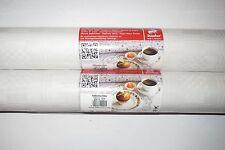 1 Rotolo 1mx10m Carta Tovaglia Panno Tabella Bianco Compleanno Decorazione