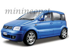 BBURAGO 18-22053 FIAT NUOVA PANDA 1/24 DIECAST BLUE