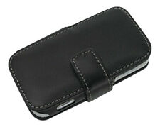 PDAIR BLACK BOOK TYPE LEATHER CASE FOR LG KM900 ARENA