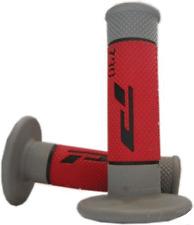 PRO GRIP 790 RED/GREY MX GRIPS HONDA 50 70 85 100 150 250 450 QR CRF CR XR XL