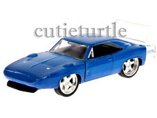 Jada Bigtime Muscle 1969 Dodge Charger Daytona 1:32 Diecast Toy Car Blue