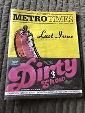 Metro Times Lust Issue Feb 7-13, 2018 Online Dating Zoe Login Anna Burch