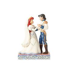 Jim Shore Disney Traditions Ariel & Prince Eric Wedded Bliss 4056749 NEW Wedding