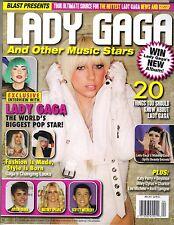 LADY GAGA Blast Magazine 2011 #4 KATY PERRY JUSTIN BIEBER