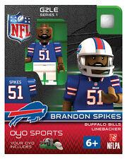 Brandon Spikes OYO Buffalo Bills NFL Mini Figure Football G2