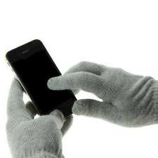 Pantalla Táctil Unisex Navidad Gris Cálido Guantes para Smartphones/Tablets