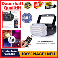 Mini Stroboskop Disco Licht Sound aktiviert Strobo Party Lichter