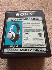 Sony MDR-V700DJ Stereo Headphones w/ Original Box (Brand New/Mint)