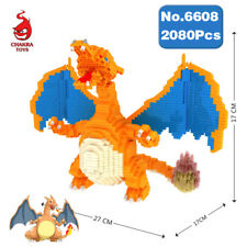 CHAKRA Pokemon Charizard Pocket Monster Diamond Mini Building Nano Blocks Toy