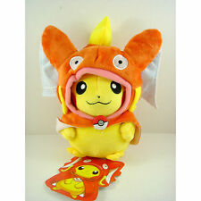 NEW Pokemon Center Gyarados Pikachu Magikarp 21cm Plush Stuffed Doll Toy Orange