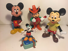 Lot Of 4 ~ Mickey Mouse Figures ~