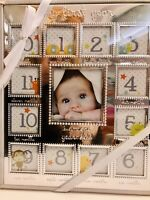 Magic Years Baby's My First Year collage picture frame NEW SEALED