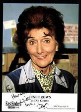 June Brown Autogrammkarte Original Signiert ## BC 33136