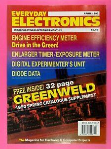 EVERYDAY ELECTRONICS - Magazine - Engine Efficiency Meter - Weather Station