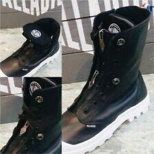 RARE bottes palladium baggy lea m zip tpz 03985-002-M BLACK/WHITE T 41