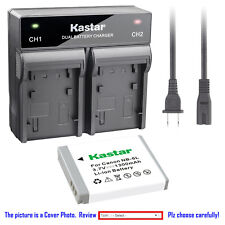 Kastar Battery Rapid Charger for Canon NB-6L 6LH CB2LY Canon PowerShot SX600 HS