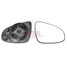 PEUGEOT 108 2014->2017 DOOR/WING MIRROR GLASS SILVER,NONHEATED & BASE RIGHTSIDE