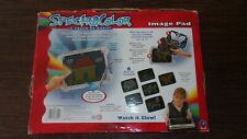 Portable Spectracolor Image Pad 6 Stencils Pictures Light Designs Irwin Toy It